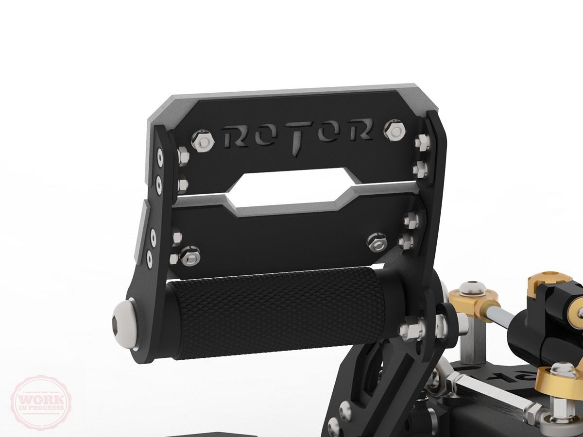 RH Rotor Rudder Pedals Blog #2