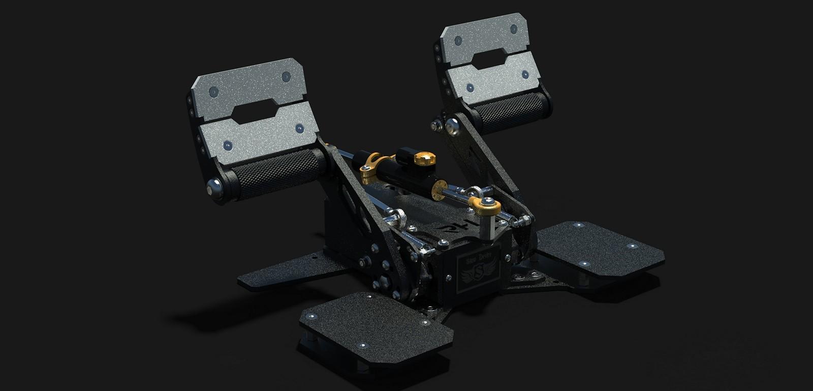 RH Type Rudder Pedals